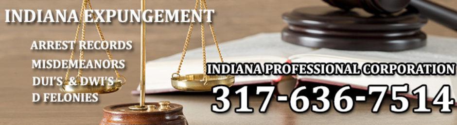 Expunge Criminal Record Indiana